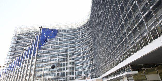 Exterior Of European Commission