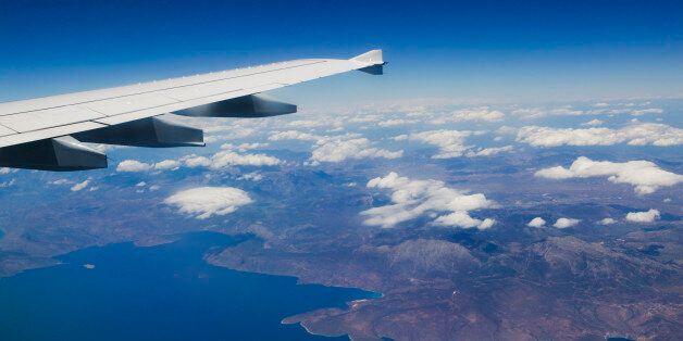 Airliner, Western Crete, Crete,
