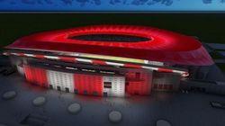 Πρωτοποριακός φωτισμός στο νέο γήπεδο της