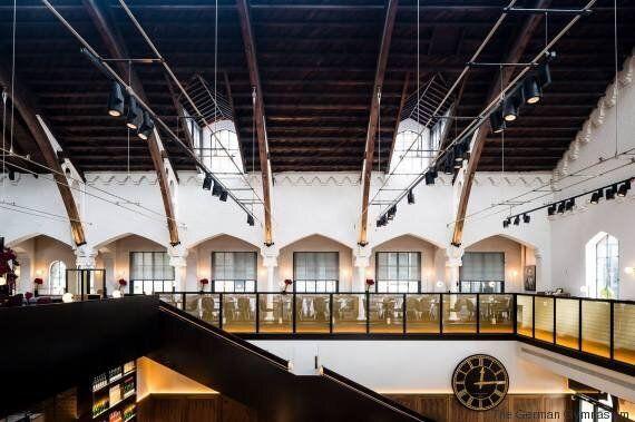 Ένα «Γερμανικό Γυμναστήριο» στο Λονδίνο ανακηρύχθηκε ως το πιο όμορφο εστιατόριο του
