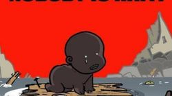 Αυτή η γελοιογραφία συνοψίζει την ανταπόκριση του κόσμου για τον τυφώνα Μάθιου στην