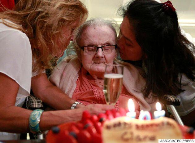 Η θρυλική ανταποκρίτρια που ανακοίνωσε την έναρξη του Β' Παγκοσμίου Πολέμου έγινε σήμερα 105