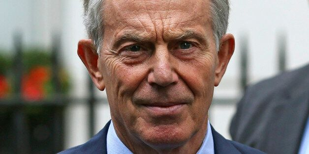 Former British Prime Minister Tony Blair leaves his office in London, Britain July 5, 2016. REUTERS/Neil...