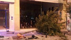 Τρελή πορεία αυτοκινήτου στην Κοζάνη: Παρέσυρε το φανάρι, τα κάγκελα, τον κάδο, ακόμη και το