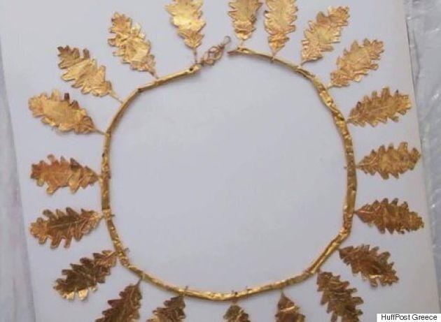 Συνελήφθησαν αρχαικάπηλοι που ετοιμάζονταν να πουλήσουν χρυσό στεφάνι ανεκτίμητης