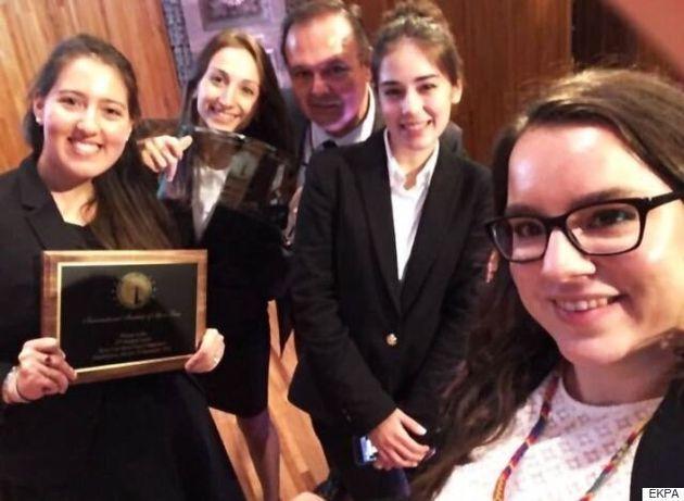 Στην κορυφή του κόσμου η Νομική Σχολή του ΕΚΠΑ στον διαγωνισμό εικονικής δίκης για το δίκαιο του