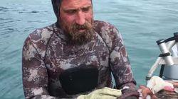 Νεοζηλανδός ψαράς σκοτώνει ένα χταπόδι με τον πιο αηδιαστικό τρόπο που έχετε δει ποτέ στη ζωή
