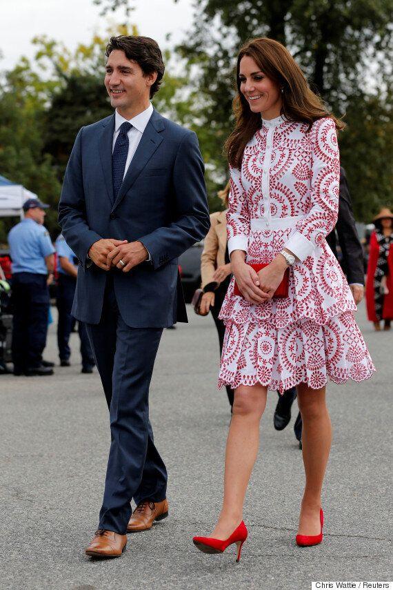 Η Kate Middleton φαίνεται να απολαμβάνει πολύ την επίσκεψή της στον