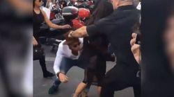 Ο «φαρσέρ» που επιτέθηκε στην Gigi Hadid φίλησε τα οπίσθια της Κιμ Καρντάσιαν στο