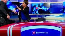 Ξύλο μεταξύ υποψηφίων σε τηλεοπτικό ντιμπέιτ στην