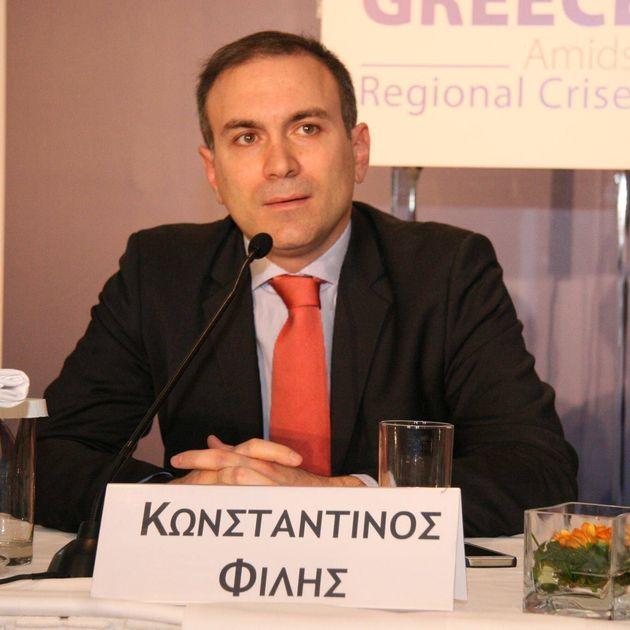 Κωνσταντίνος Φίλης: Συνθήκες που ορίζουν σύνορα δεν αλλάξουν παρά μόνο με πόλεμο. Εσωτερικής κατανάλωσης...