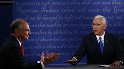 ΗΠΑ: «Ο Τραμπ ανόητος, η Κλίντον αδύναμη». «Κονταροχτυπήθηκαν» οι υποψήφιοι αντιπρόεδροι Τιμ Κέιν και Μάικ