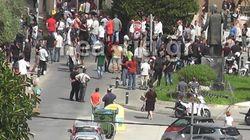 Επεισόδια έξω από το Δημαρχείο Ρεθύμνου για την φιλοξενία προσφύγων στην