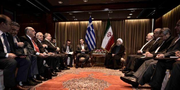 Με τον πρόεδρο του Ιράν συναντήθηκε ο πρωθυπουργός. Συνάντηση και με τον Αρχιεπίσκοπο
