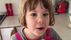 Όταν μια 3χρονη μαγειρεύει αυγά με τον δικό της «εφιαλτικό»