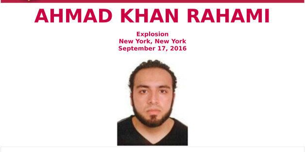 This undated photo provided by the FBI shows Ahmad Khan Rahami. The New York Police Department said it...