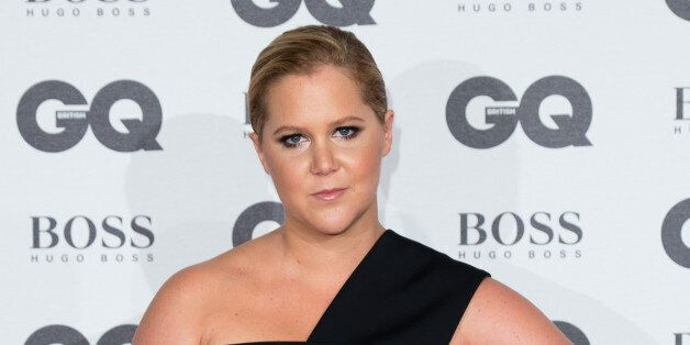 LONDON, ENGLAND - SEPTEMBER 06: Amy Schumer arrives for GQ Men Of The Year Awards 2016 at Tate Modern on September 6, 2016 in London, England. (Photo by Jeff Spicer/Getty Images)