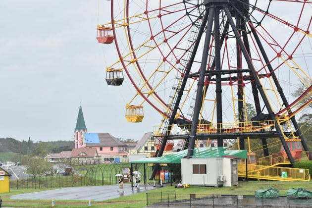 台風15号で被災し、14日から営業を再開した東京ドイツ村=18日、千葉県袖ケ浦市   撮影日:2019年09月18日