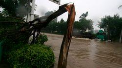 Η τροπική καταιγίδα Malakas συναντά τον σούπερ τυφώνα Meranti και κατευθύνονται προς Ιαπωνία και