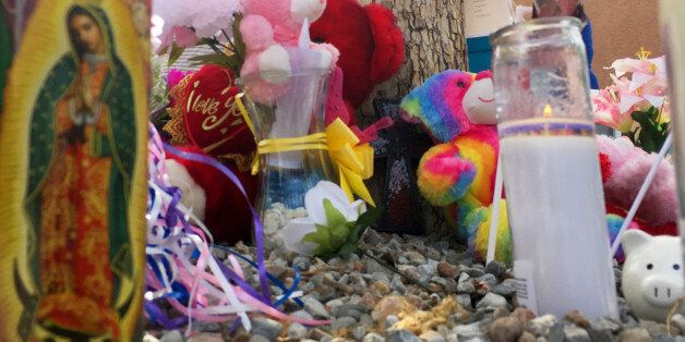 A memorial for a 10-year-old girl who police said was sexually assaulted, strangled then dismembered...