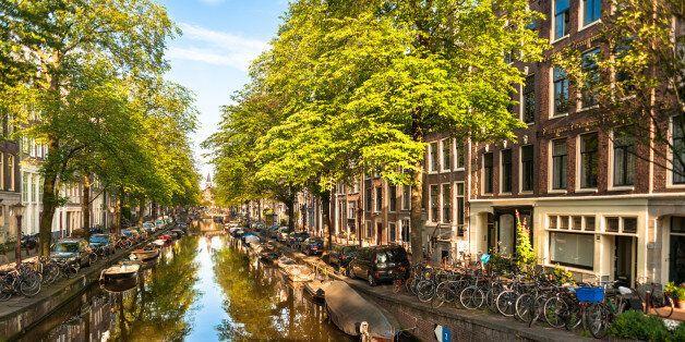 Summer Morning on Amsterdam Bloemgracht