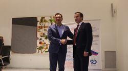 Συνάντηση Τσίπρα με τον αναπληρωτή υπουργό της Ρωσίας. Στην ατζέντα η ενίσχυσυ των εμπορικών