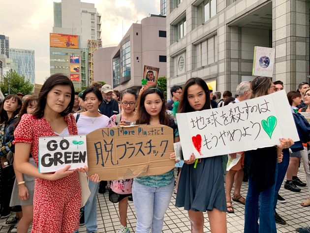 「地球を殺すのはもうやめよう」と若者たち