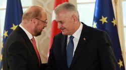 Συμφώνησαν ότι διαφωνούν Σουλτς και Γιλντιρίμ για βίζες και τον τουρκικό αντιτρομοκρατικό