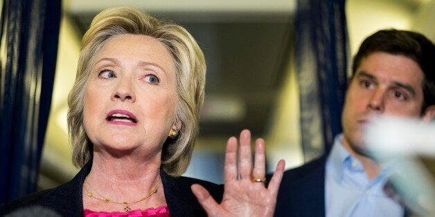 WHITE PLAINS, NY - Second day in a row, Democratic Nominee for President of the United States former...