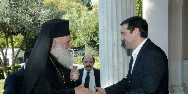Δείπνο, με ανοιχτά ζητήματα, παραθέτει ο πρωθυπουργός στον Αρχιεπίσκοπο
