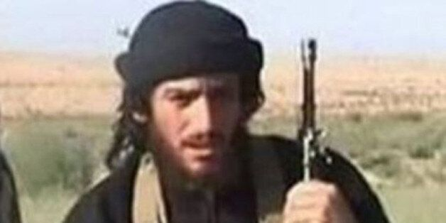 IS spokesman and head of external operations Abu Muhammad al-Adnani is pictured in this undated handout...