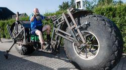 Θέση στο βιβλίο Guinness για το βαρύτερο ποδήλατο στον