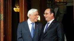 Παυλόπουλος-Ολάντ: Ελλάδα και Γαλλία μοιράζονται τις ίδιες