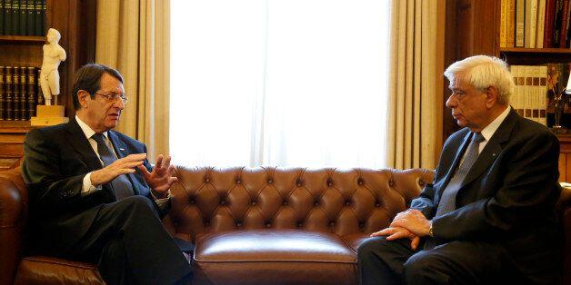 Το Κυπριακό στο επίκεντρο της συνάντησης Παυλόπουλου με τον Πρόεδρο της Κυπριακής