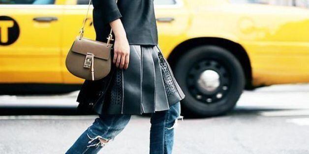 Φούστα και παντελόνι μαζί: Πώς μπορεί να φορεθεί μία από τις δυσκολότερες τάσεις τις φετινής