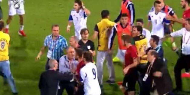 Ένταση στο γήπεδο μετά τη νίκη της κυπριακής Εθνικής Ελπίδων επί της Τουρκίας στην