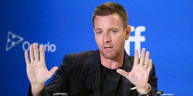 """Actor/director Ewan McGregor participates in the """"American Pastoral"""" press conference on day 3 of the Toronto International Film Festival at the TIFF Bell Lightbox on Saturday, Sept. 10, 2016, in Toronto. (Photo by Evan Agostini/Invision/AP)"""