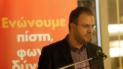 Θεοχαρόπουλος: Δεν υπάρχει χρόνος για χάσιμο για τη δημιουργία σύγχρονου ενιαίου κεντροαριστερού