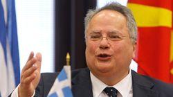Κοτζιάς: Ελλάδα και ΠΓΔΜ θα βαδίσουν μαζί στην ΕΕ μόλις λυθεί το ονοματολογικό και χτυπηθεί κάθε είδους