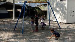 «Αγνώριστο» το κέντρο της Αμυγδαλέζας. Ολική «ανακαίνιση» με παιδική χαρά για παιδιά