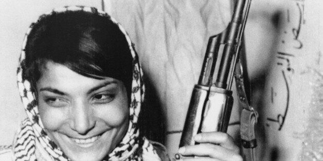 (Original Caption) Amman, Jordan: Miss Layla Khaled, one of two hijackers of an American T.W.A. jetliner...