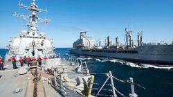 Ιρανικά πλοία παρενόχλησαν αντιτορπιλικό των ΗΠΑ στα Στενά του