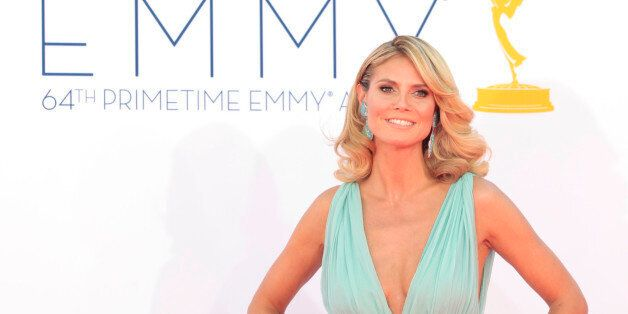 Heidi Klum, host of the reality competition series