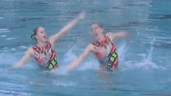 Mετάλλιο όχι, αλλά Metal-λιο ναι: Η ομάδα της Σλοβακίας στη συγχρονισμένη κολύμβηση υπό τους ήχους των Iron