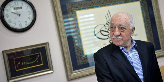 U.S. based cleric Fethullah Gulen at his home in Saylorsburg, Pennsylvania, U.S. July 29, 2016. REUTERS/Charles