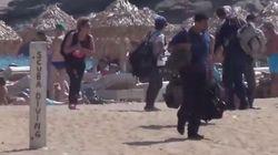 Ιστιοφόρο με 35 πρόσφυγες προσάραξε στη Φραγκιά