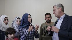 Ο Filippo Grandi επισκέφτηκε Σύριους πρόσφυγες που συμμετέχουν στο Πρόγραμμα Προσωρινής Στέγασης του Δήμου