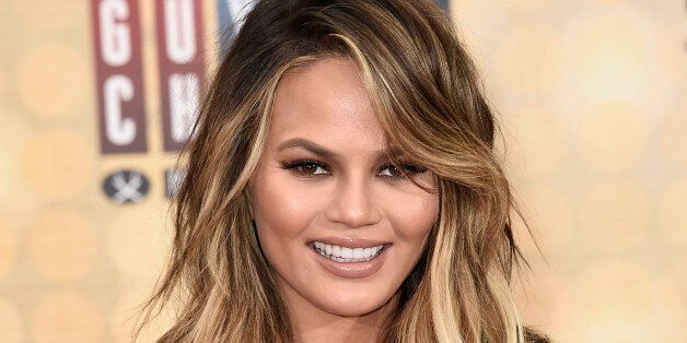 Chrissy Teigen arrives at the Guys Choice Awards at Sony Pictures Studios on Saturday, June 4, 2016, in Culver City, Calif. (Photo by Dan Steinberg/Invision/AP)