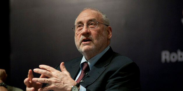 BANGALORE, INDIA JANUARY 8: (EDITORS NOTE: This is an exclusive shoot of Mint) Joseph Stiglitz Nobel...