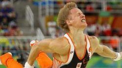 Ολλανδός γυμναστής προσγειώθηκε με τα... μούτρα στο
